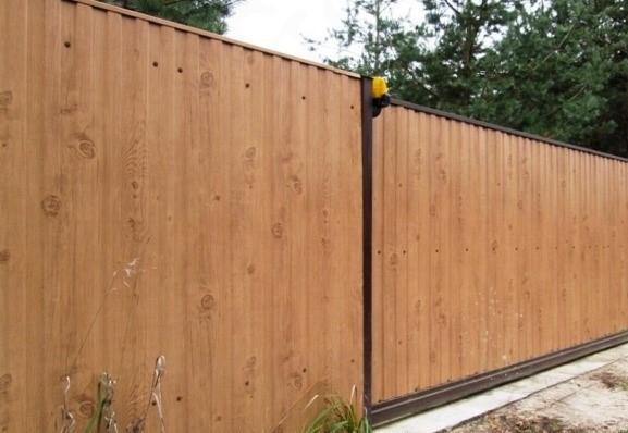 Забор из текстурированного сырья